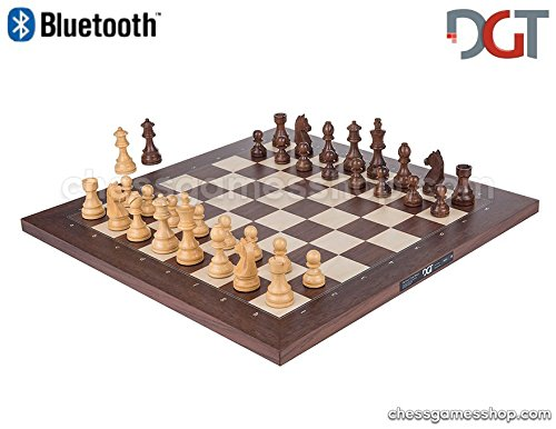 DGT Bluetooth Rosewood Eboard Board ONLY - Electronic Chess
