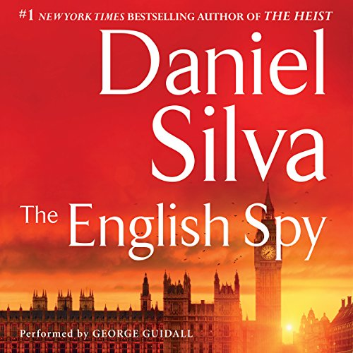 The English Spy audiobook cover art