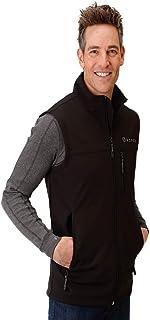 Roper Western Vest Men Zip Fleece Bonded 2XL Black 03-097-0782-7004 BL