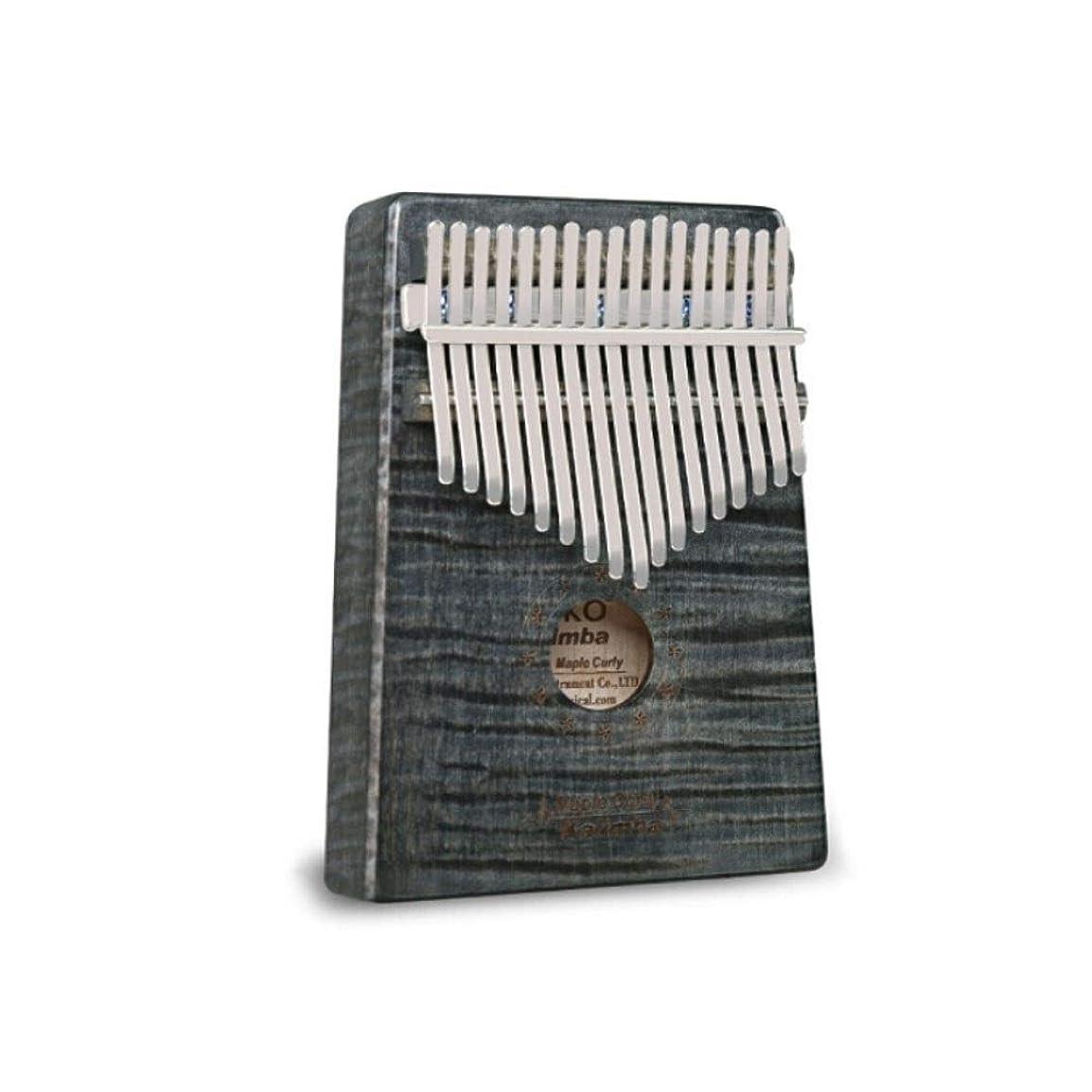 微妙キャプチャー囲まれたカリンバ、ポータブルカリンバサムピアノ、17トーンレトロデザインスタイル、最高のギフト