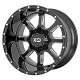 XD XD838 22x10 8x6.5 12mm Black/Milled Wheel Rim 22' Inch