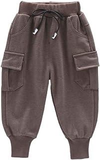 HOSD2019 otoño nuevos Pantalones para niños en el niño Pantalones Suaves y cómodos Pantalones de Lana para niños Herramientas
