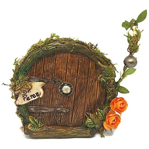 Hobbit-inspirierte Tür, perfekte Feentür zur Dekoration Ihres Hauses