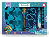Handstand Kids 19-Piece Mermaid Baking Set with Recipes for Kids