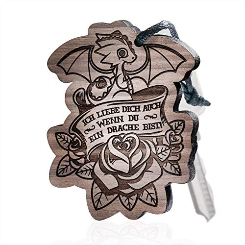 schenkYOU Schlüsselanhänger aus Holz