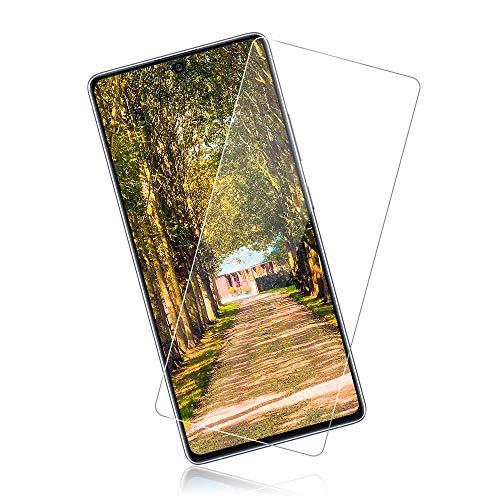 [3 Piezas] Protector de Pantalla para Samsung Galaxy S10 Lite, Cristal Templado, Dureza 9H, Sin Burbujas, Resistencia al Desgaste