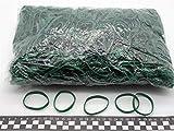 Progom - Elastici di gomma - 60(ø38)mm x 5mm - verde - borsa 1kg