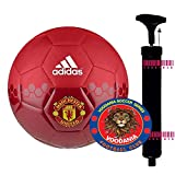 VOODANIA Combo Pack Manchester United World Cup Football Soccer for Young Adults Beginners