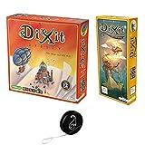 Juego de 2 juegos de Dixit Odyssey + extensión Daydreams + 1 Yoyo Blumie.