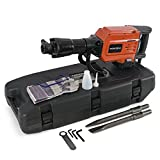 Gizmo Supply 2200W 1900RPM Electric Demolition Jack Hammer