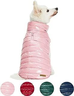Best pink puffer dog coat Reviews