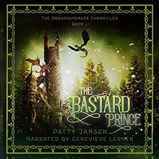 The Bastard Prince  audiobook cover art