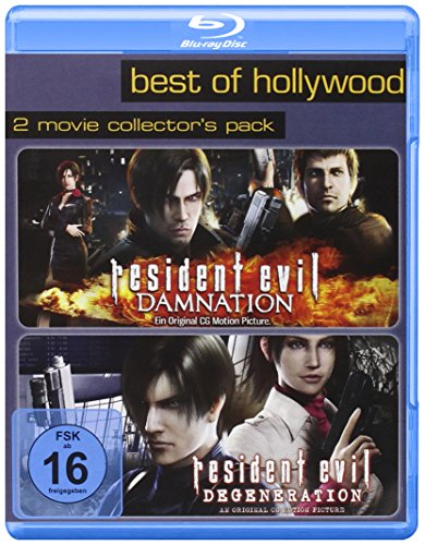 Resident Evil: Degeneration/Resident Evil: Damnation - Best of Hollywood/2 Movie Collector's Pack [Blu-ray]