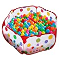 KUUQA Kids Ball Pit Play Tent Sea Ball Pool Pit for Toddlers with Zippered Storage Bag 39.4 Inch by 19.7 Inch (Balls Not Included)