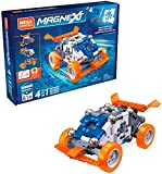 Mega Construx Magnext 4-in-1 Mag-Racers Construction Set with Magnets, Magnetic Building Toys for Kids 81 Pieces