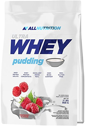 Allnutrition Ultra Whey Pudding, Chocolade, 908 g
