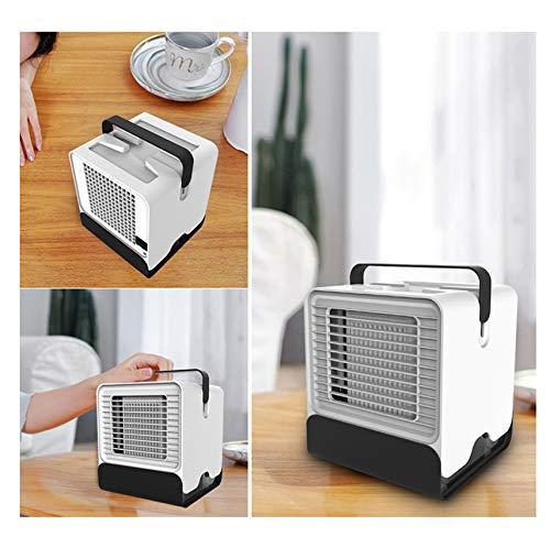 PTICA Mini Ventilador USB portátil Aire Acondicionado Iones Negativos Oficina de enfriamiento pequeño Arctic Air Cooler Ventilador de humidificación de Escritorio, Tamaño: 151 * 150 * 171 mm