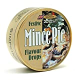 Mince Pie Drops - Simpkins Travel Sweets 200g - Christmas Limited Edition