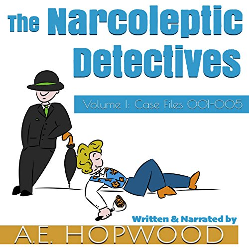 The Narcoleptic Detectives audiobook cover art