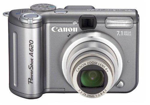 Canon PowerShot A620 Digitalkamera (7 MP)