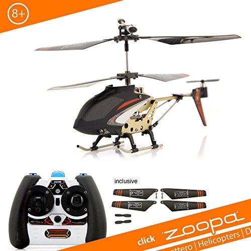 ACME - zoopa 150 red heat, 2,4 GHz Helikopter mit Ambient Lights, leicht zu fliegen durch neuste Gyrotechnik (AA0179)