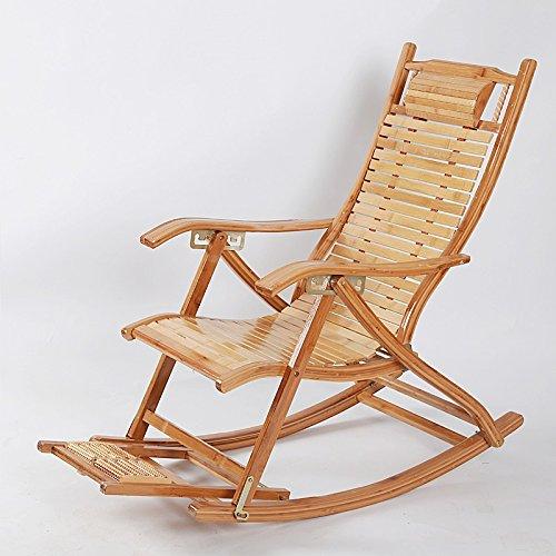 Leisure dans Les Personnes âgées Chaises Pliantes Bambou Chaise Pliante Chaises Chaises à Bascule Fauteuil Lounge Prendre Une Chaise Dossier de Chaise