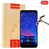 [2 Pack] PULEN for Samsung Galaxy A6 Plus 2018 Screen Protector,0.3MM Slim and 9H Hardness Tempered Glass [Anti-Scratch] [Bubble Free] Extreme Hardness with Lifetime Replacement Warranty