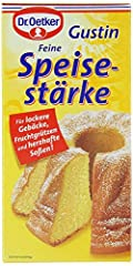 Dr. Oetker Fine Cornstarch Gustin Feine Speise Starke 14oz/400g From Germany Made from Pure Corn Starch