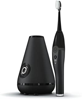 TAO Clean Sonic Electric Toothbrush & Cleaning Station, Deep Space Black