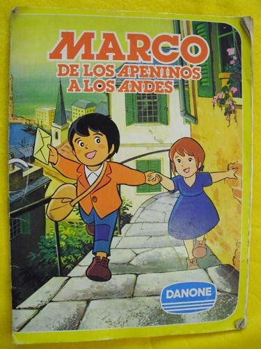 Álbum de cromos - Stickers : MARCO DE LOS APENINOS A LOS ANDES