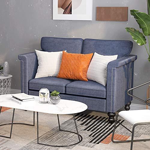 CUGBO Loveseat Sofa (Blue Grey)