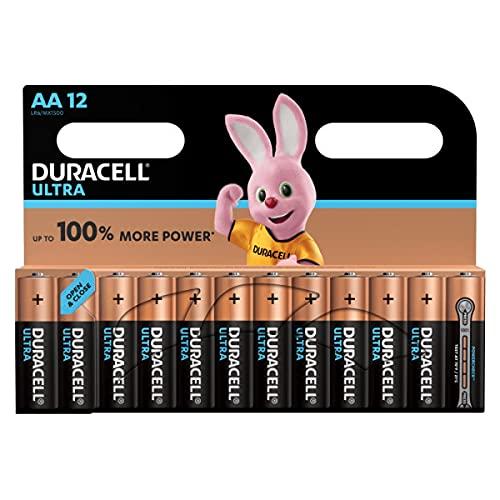 Duracell - Ultra AA Batterie confenzione da 12