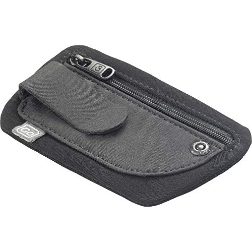 Go Travel Discreet and Security Hideaway Money Clip Pouch - Attaches Securely to a Belt (Ref 887)