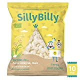 SillyBilly - Snack ecológico - Pack 10 bolsitas - Chips de
