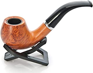 ANCKS Churchwarden Tobacco Pipe - Pear Wood Roots - Handmade (Red)