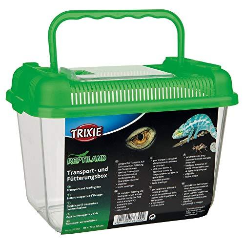 Trixie 76300 Transport- und Fütterungsbox, 19 × 14 × 12 cm