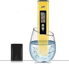PH متر سنج ، PH متر 0.01 با دقت بسیار بالا اندازه جیب اندازه گیری کیفیت آب با محدوده اندازه گیری pH ATC 0-14 برای آب آشامیدنی خانگی ، آکواریوم ، استخرهای شنا ، هیدروپونیک