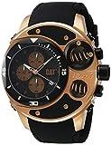 CAT relojes hombre DU 193.21.921 DU54 analógico pantalla negra y oro rosado