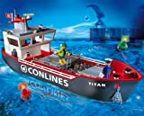 PLAYMOBIL® 4472 - Großes Containerfrachtschiff -