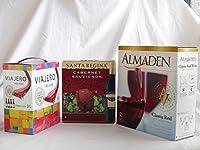 ワインセット 2セット 大容量飲み比べセット(サンタ・レジーナ カベルネ・ソーヴィニヨン 赤ワイン フルボディ3000ml×2本 アルマデン クラシック カリフォル