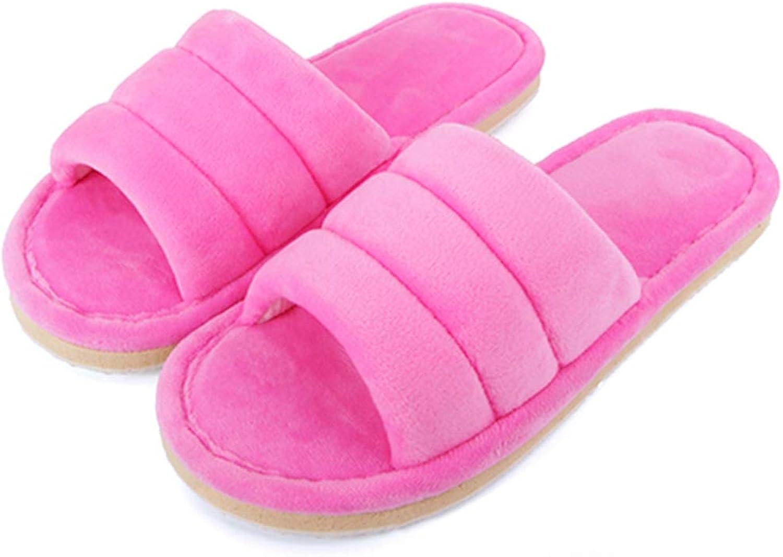 Nafanio Winter Indoor shoes Woman Fur Slippers Terlik Soft Plush Women Warm Cotton Big Size Fluffy Home Flats