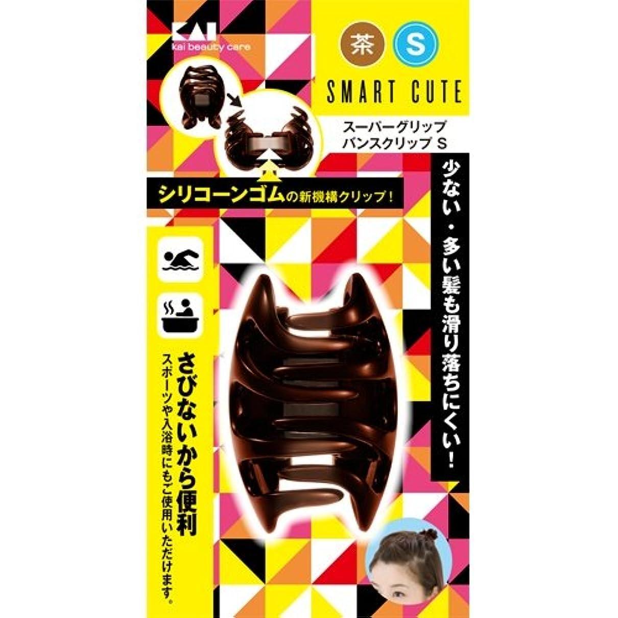 また明日ね眉をひそめる原告スマートキュート(SmartCute)スーパーグリップバンスクリップS茶 HC3313