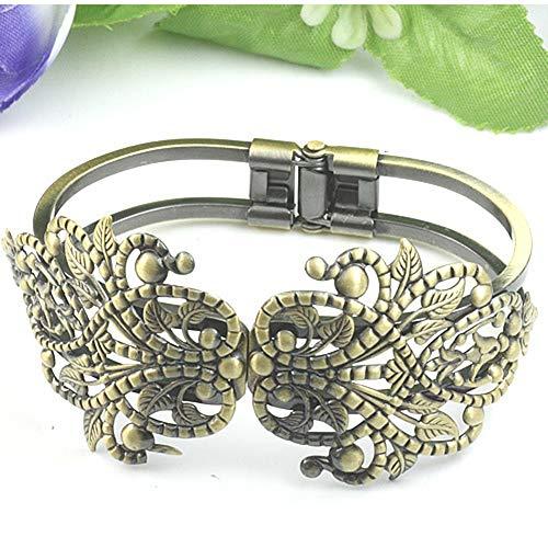 Bracelets de Mode Plaqués Cuivre Couronnes Couronnes Bracelets Double Usage Rétro Très Pratique et Populaire Attractif