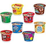 Kellogg's Cereal in a Cup Variety Pack - 8 Tasty Flavors, Portable Breakfast, Bulk Size (Pack of 60 Cups)