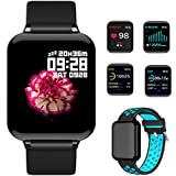 feifuns Smart Watch,Fitness Tracker with Heart Rate/Blood Pressure/Oxygen Monitor,1.3' Waterproof Health Exercise Watch Sleep Monitor Step Calorie Counter Fitness Watch for Men Women