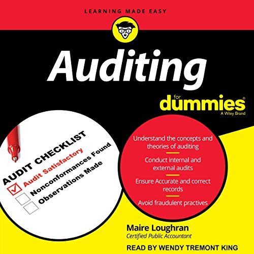 Auditing for Dummies  By  cover art