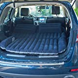 Farasla Thickened Car Air Mattress with 2 Extra Inflatable Pillows, Pump, Repair Patch and Storage Bag
