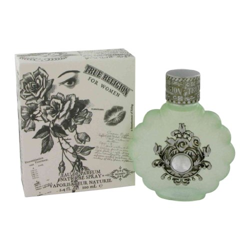 True Religion Eau de Parfum Spray for Women, 3.4 Fluid Ounce
