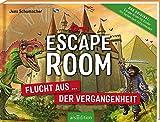 Escape Room - Flucht aus der Vergangenheit: Mit Seiten zum Aufschneiden   Escape-Krimi für Kinder mit vielen spannenden Rätseln