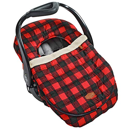 Discover Bargain JJ Cole Car Seat Cover, Buffalo Check
